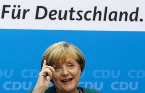 Frau Merkel sovrana ma non assoluta: tratta già coi socialisti