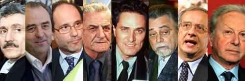 """Ecco tutti i leader politici """"asfaltati"""" da Berlusconi nel corso degli anni"""