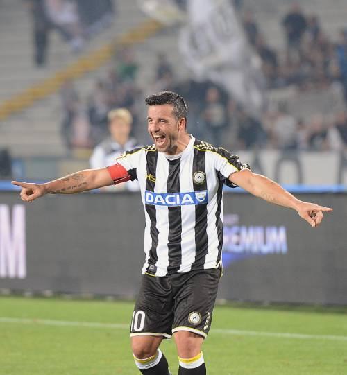 Autogol di Calaiò, il Genoa cade in casa Udinese