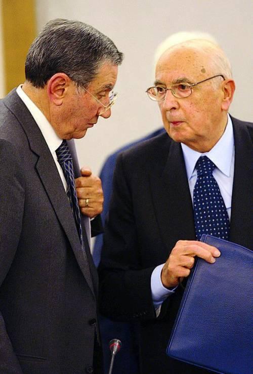 I Pm trascinano Napolitano in aula