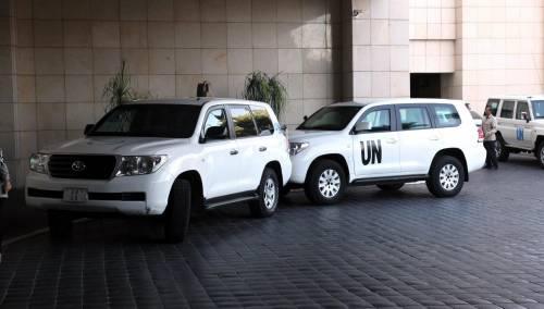 Siria, Ban propone un team di 100 ispettori per le armi chimiche