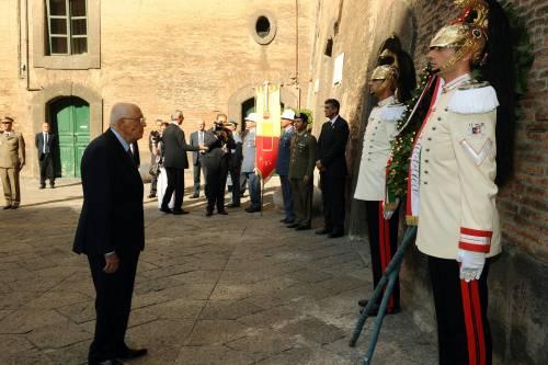 """Napolitano a Napoli: """"Il futuro è incerto ma bisogna avere fiducia"""""""