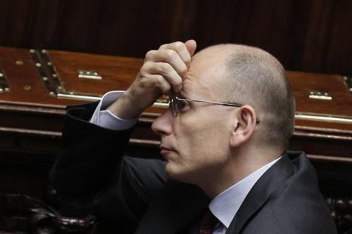 Le tasse di Letta fanno cadere il governo