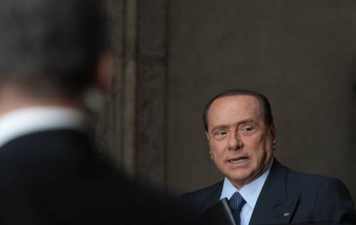 """Berlusconi: """"Non sono sceso in campo per lasciare l'Italia in queste condizioni"""""""