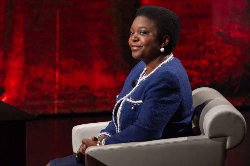 Il ministro all'Integrazione Cecile Kyenge a Che tempo che fa