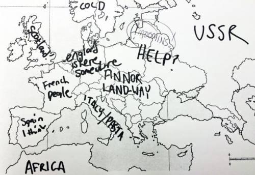 Cartina Muta Dell Europa Con I Confini.La Carta Geografica Europea Per Gli Americani E Un Enigma Il Sondaggio Ilgiornale It