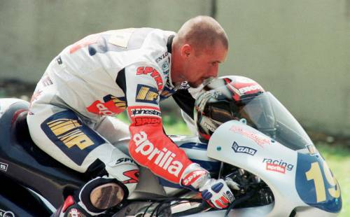 Doriano Romboni in una foto d'archivio del 17 maggio 1997