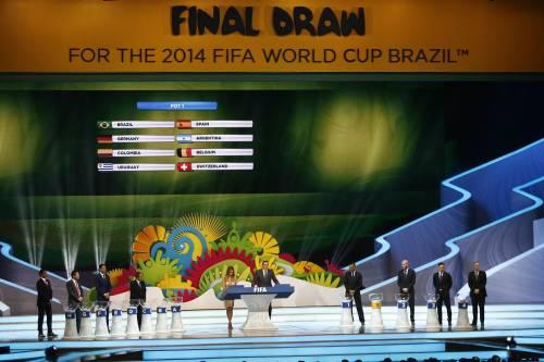 Sorteggio Mondiali: Italia con Uruguay, Inghilterra e Costarica