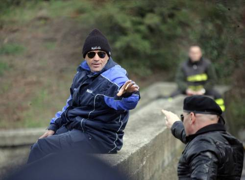 L'ex pugile Loris Stecca in una foto del 2008, quando tentò il suicidio