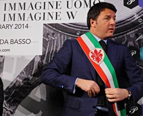Il segretario del Pd Matteo Renzi all inaugurazione di Pitti Uomo