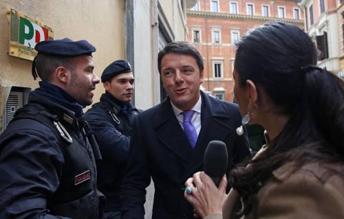 """Matteo Renzi: """"Il patto del Nazareno non è un papiro segreto"""""""