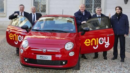 Enjoy conquista i milanesi. In un mese 26mila iscritti al car-sharing dell'Eni