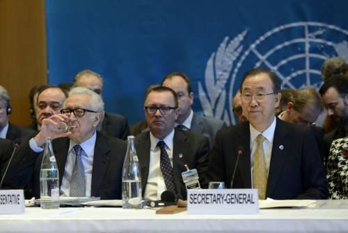 Siria, a Ginevra 2 è scontro tra Ban Ki-moon e il ministro degli Esteri di Assad