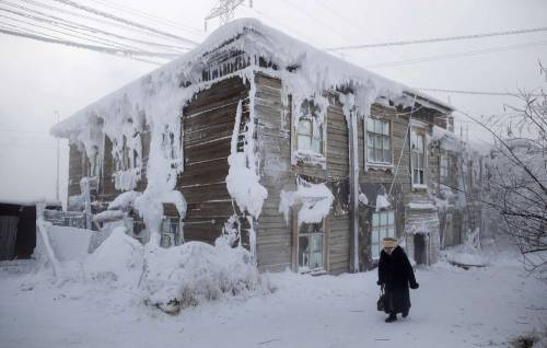 Un inverno a -67,8°: il villaggio più freddo del mondo è in Siberia