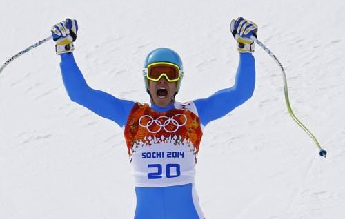 Sochi, primo sorriso per l'Italia: argento a Innerhofer nella discesa