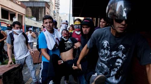 Venezuela, manifestazioni contro Maduro 5