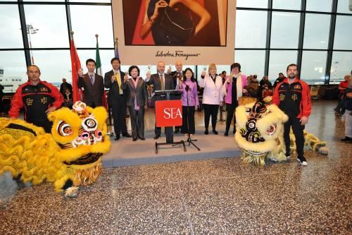 """Capodanno cinese festeggiato a Malpensa, scalo """"Chinese friendly"""""""