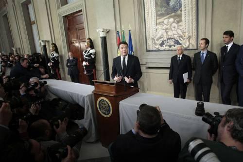"""Renzi premier incaricato: """"Vogliamo arrivare al 2018"""""""
