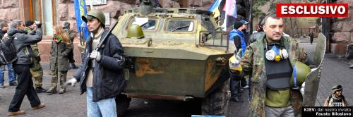 Kiev nelle mani dei rivoluzionari