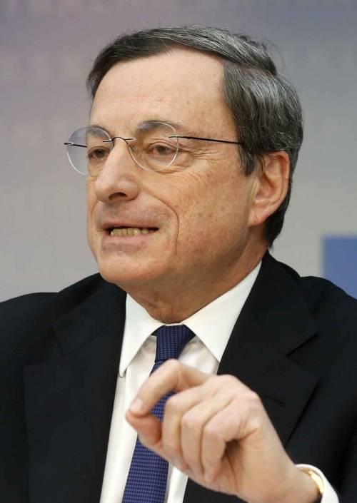 Draghi: «Tassi fermi Pronti a nuove misure»