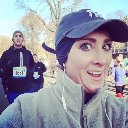 La runner corteggiatrice: selfie con gli atleti più belli