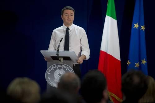 """Renzi: """"Voglio solo far sorridere gli italiani"""""""