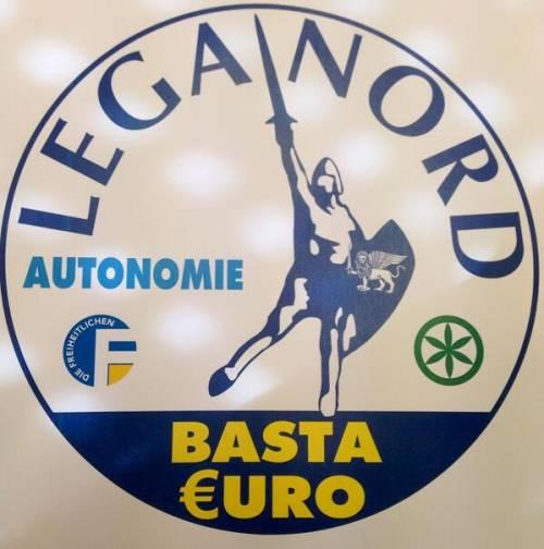 La Lega cambia simbolo: va via la Padania e arriva Basta Euro