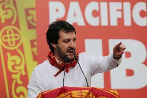 "Salvini: ""O liberano i secessionisti o andiamo a liberarli noi"""