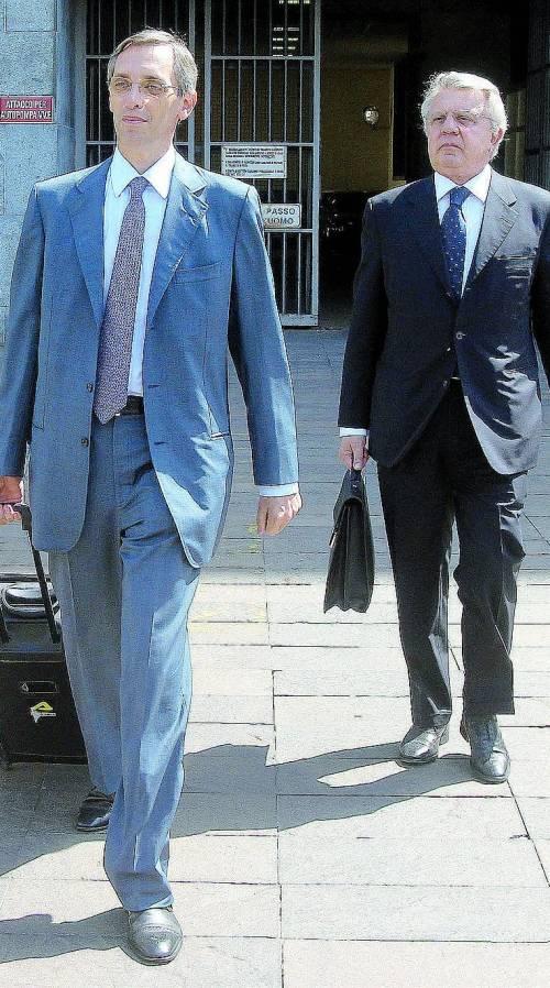 Niccolò Ghedini e Piero Longo, avvocati di Berlusconi