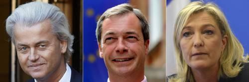 Cresce la forza elettorale dei big euroscettici