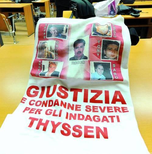 Strage della Thyssen la Cassazione annulla  tutte le condanne