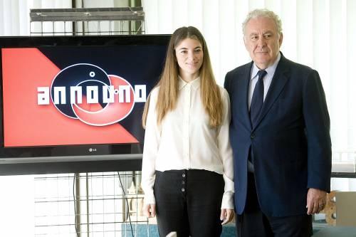 Giulia Innocenzi presenta Announo, la tv dei rottamatori. E Santoro non molla La7