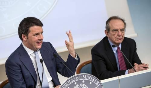 Centrodestra unito contro la manovra di Renzi