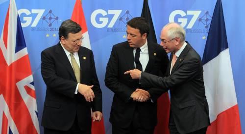 Renzi al G7 gioca in serie B: escluso dagli incontri chiave