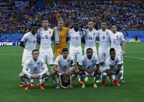 L'Inghilterra schierata da Hodsgon contro l'Italia