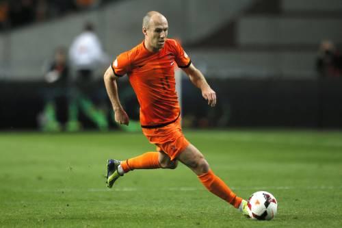 Robben autore della prima rete olandese