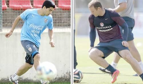 Suarez e Rooney