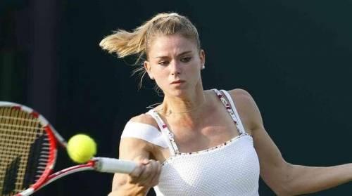 Giorgi, sopravvissuta a Wimbledon
