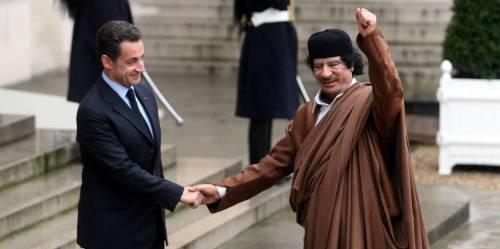 """""""Parigi ordinò di eliminare Gheddafi"""""""