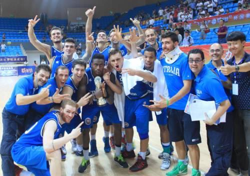 L'Italbasket sperimentale, vincente in Cina, in soli 3 uomini