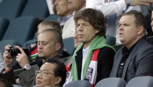 Mick Jagger, causa per molti Brasiliani della disfatta verde-oro