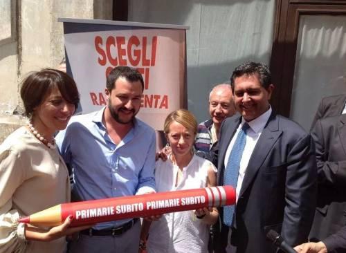 De Girolamo, Salvini, Meloni e Toti