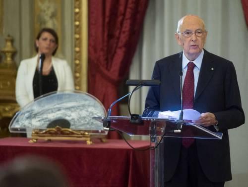 """Napolitano: """"La riforma della giustizia non è più rinviabile"""""""