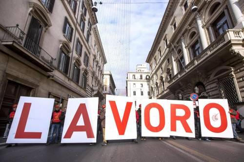 L'Italia divisa in due: tasso attività Nord +17% rispetto a quello del Sud