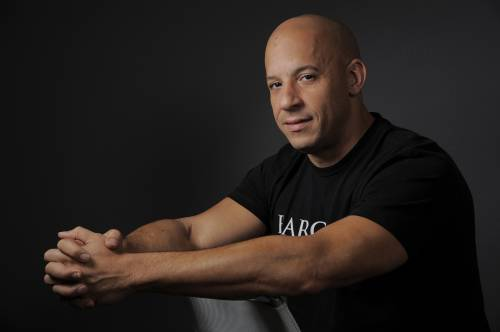Vin Diesel mostra i muscoli
