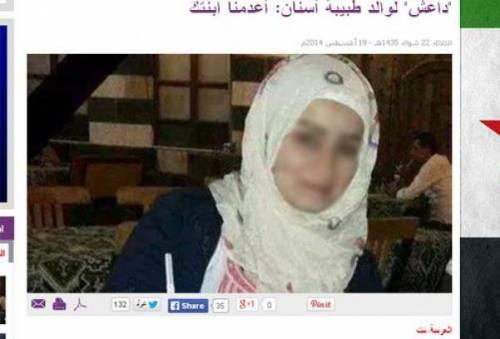 Siria, dentista donna uccisa da Isis perché curava gli uomini