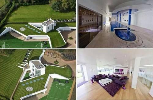 Un valore pari a quasi 6 milioni di euro quello della nuova residenza Balotelli