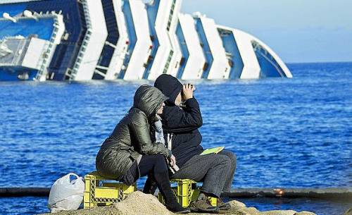 """""""Sindrome da Concordia"""" per i superstiti del naufragio del Giglio"""
