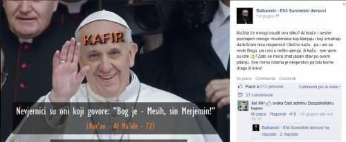 Francesco nel mirino di Isis, rafforzata la sicurezza in Vaticano