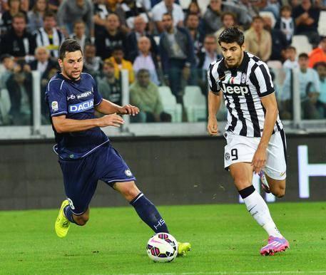 Morata al debutto con l'Udinese. Spazio per lui anche questa sera'